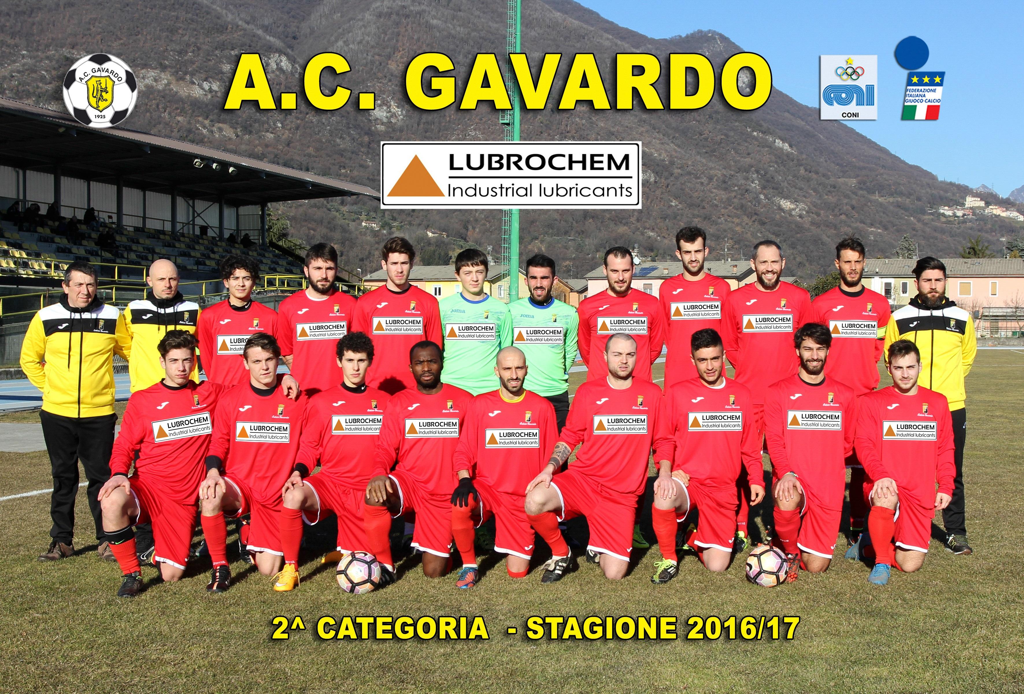 Calcio Gavardo Lubrochem 2017