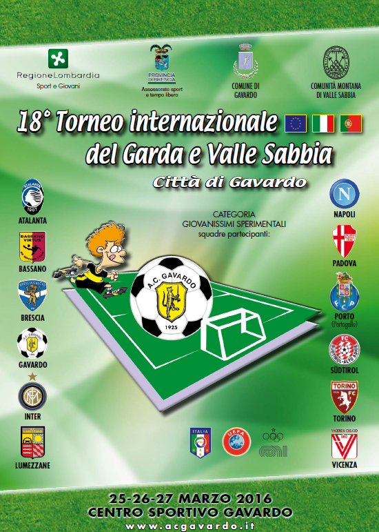 depliants Torneo Pasqua 2016