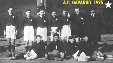 Da sinistra a destra e dall'alto in basso: Tonelli, Lazzarini, Manenti, Ziglioli, Ferretti, Zilioli, Mainetti del Lanificio. A terra: Guatta, Cherubini, Morandi, Torri.