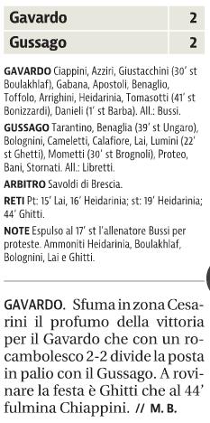 IGussago gior. Brescia