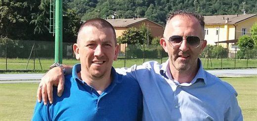 Presidente Tonoli e Ds Tagliani