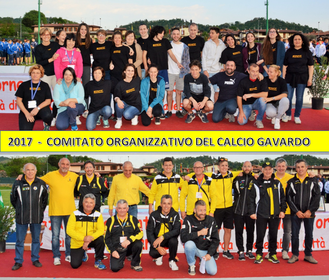 Torneo di Pasqua 2017 - Comitato Organizzativo
